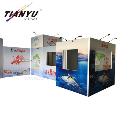 Tian Yu Offerta Food Fair 7X8 Exhibition Booth Display System Fiera Booth