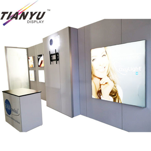 Portable Trade Show Booth e Booth Idee per fiere Trade Show Exhibition Mostra Booth